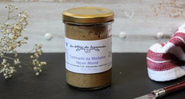 Les Délices du Scamandre - Tartinade de Pois Chiches et Betteraves