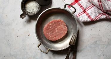 La Ferme du Poublanc - Famille LAFFARGUE - [Précommande] Steaks Hachés de Veau x 12 - Blonde d'Aquitaine - En conversion Bio