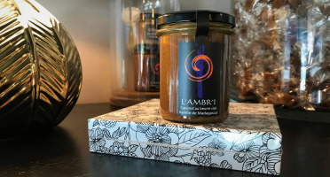L'AMBR'1 Caramels et Gourmandises - Crème De Caramel À La Vanille De Madagascar Bio - Pot De 220g
