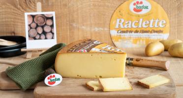 Constant Fromages & Sélections - Raclette Badoz Au Lait Cru La Cendrée Du Haut-doubs - 500g