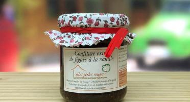 Les Perles Rouges - Confiture Extra De Figues À La Vanille