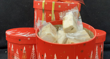 Nougats Laurmar - Boite Cadeau Garnie De Nougat Délicieux Nougat Blanc Tendre Tradition De Provence Pur Premium