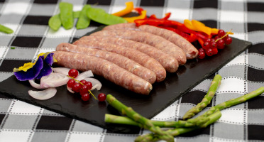 La ferme Grandvillain - Saucisses De Poulet - Bleu & Noix - 6 X 60 G
