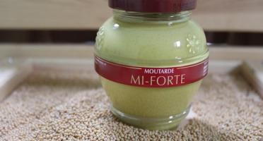Domaine des Terres Rouges - Moutarde Mi-Forte 200 g