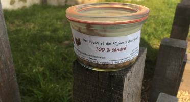 Des Poules et des Vignes à Bourgueil - Effiloché de Canard