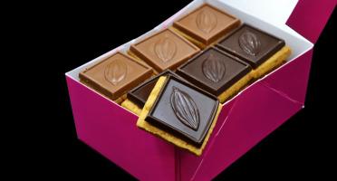 Philippe Segond MOF Pâtissier-Confiseur - Petit étudiant 450g mélange chocolat noir et lait
