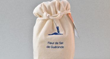 Artisans du Sel - Fleur de Sel de Guérande en Sachet Tissus 150g