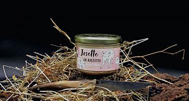 Domaine de Bellecour - Josette la rillette - Rillettes de porc plein air - 200 g