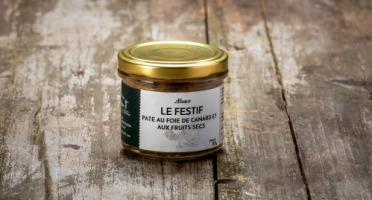 La Ferme Schmitt - Le Pâté au Foie de Canard et aux Fruits Secs 85g