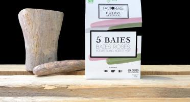 Cafés Factorerie - Mélange 5 BAIES BIO - 100g En Grain