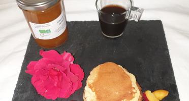 La Ferme du Montet - Confiture Extra de nectarines BIO - 220 g