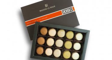 Maison Le Roux - Coffret de 15 Macarons Côte Sauvage