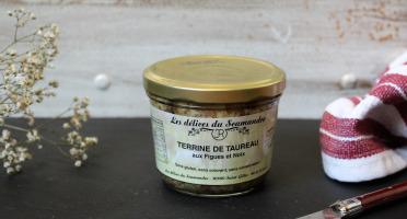 Les Délices du Scamandre - Terrine de Taureau aux Figues et Noix - 180g