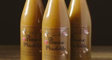 La Ferme des Prun'Elles - Lot De 3 Jus Pomme Mirabelle