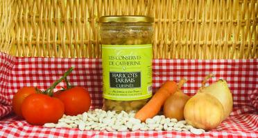 Ferme de Calès - Conserve De Haricots Tarbais Cuisinés
