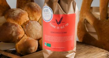 Du bio dans l'assiette - Farine Blé T80 Bio 25kg