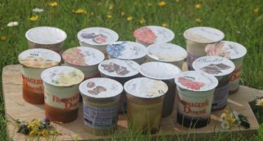 Ferme Dumesnil - Pack Yaourts : 8 Yaourts aux fruits et 8 Crèmes desserts