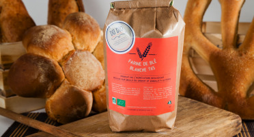 Du bio dans l'assiette - Farine Blé T65 Bio 5kg