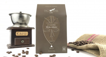 Cafés Factorerie - Café MOULU d'Ethiopie Moka Sidamo - 250 gr