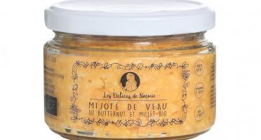 Les délices de Noémie - Petits Pots Bébé 12 Mois: Lot de 6 Mijoté de veau au butternut et millet Bio