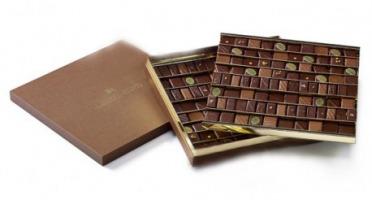 Maison Le Roux - Boîte Luxe de Chocolats - Double Plateau