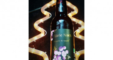 La Roque  Brasserie Bio, paysanne et familiale - Bière La Marie-noëlle 6x75cl - Brasserie Fermière Bio