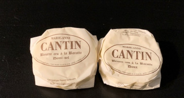 La Fromagerie Marie-Anne Cantin - Beurre Cru À La Baratte Demi-sel - 75 Gr