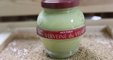 Domaine des Terres Rouges - Moutarde à la Verveine du Velay 200 g