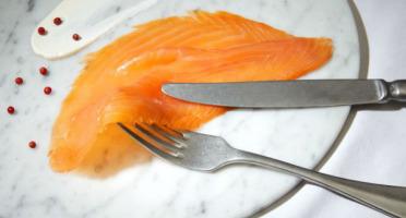 Saumon de France - Saumon De France Fumé - Filet prétranché - 1,2 kg