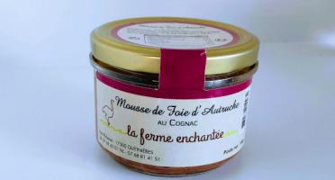La Ferme Enchantée - Mousse de Foie d'Autruche au Cognac - 180 gr