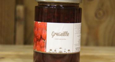 La Ferme du Logis - Confiture de Groseille - Confiture Extra