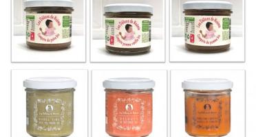 Les délices de Noémie - Assortiment repas et compotes pour Bébé 6 Mois: 3 repas & 3 compotes