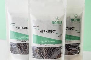 Nomie, le goût des épices - IGP Poivre Noir de Kampot