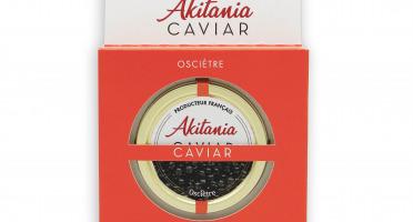 Akitania, Caviar d'Aquitaine - Caviar D'aquitaine Akitania Oscietre Coffret 50g