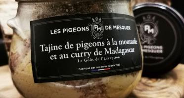 Les Pigeons de Mesquer - Tajine De Pigeons à la Moutarde et au Curry de Madagascar