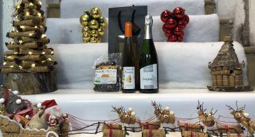 Domaine de l'Ambroisie - Coffret Cadeau ensemble pour Kir Mirabelle (Énigme 75cl-crème de Mirabelle 35cl-mirabelle-séchées))