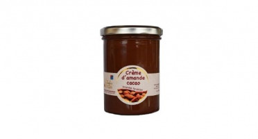 Les amandes et olives du Mont Bouquet - Crème D'amande Cacao 450g (pâte À Tartiner)