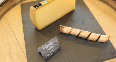 Constant Fromages & Sélections - Comté Aop Badoz Prestige 12 Mois, Part De 1kg Environ