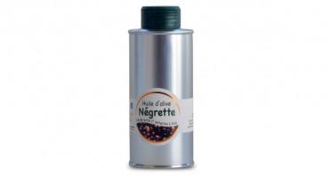 Les amandes et olives du Mont Bouquet - Huile d'olive Négrette 25 cl