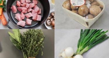 BEAUGRAIN, les viandes bien élevées - Tout pour une Véritable Blanquette - Repas pour 6 Personnes