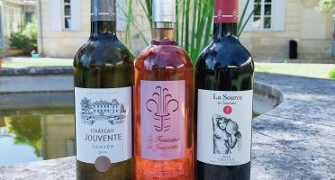 Château Jouvente - Offre Trio Frais et Fruité - 3 Bouteilles