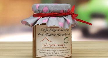 """Les Perles Rouges - Confit D'oignons Au """"vin"""" De Poire Les Perles Rouges"""