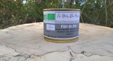 Le Noir du Picou Elodie Ribas - Fromage De Tête De Porc Pur Gascon 180g
