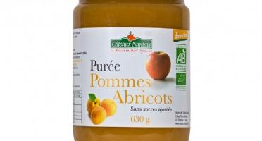 Les Côteaux Nantais - Purée Pommes Abricots 630g