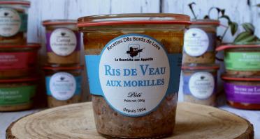 La Bourriche aux Appétits - Pâté de Ris de Veau aux Morilles