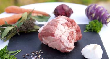 La Ferme du Chaudron - Rôti Échine de Porc BIO - 900 g
