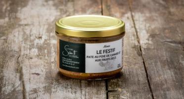 La Ferme Schmitt - Le Pâté au Foie de Canard et aux Fruits Secs 200g