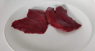 La Ferme Enchantée - SURGELÉ 40 steaks d'autruche - conditionné par 2 sous-vide