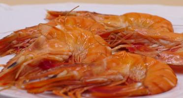 Maison Matthieu - Crevettes Royales Fumées 120g