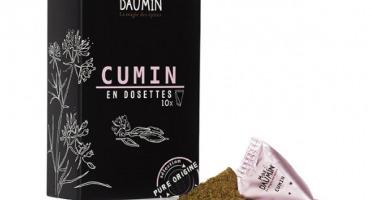 Epices Max Daumin - Cumin - Boite de Dix dosettes